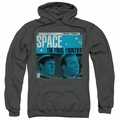 Star Trek pull-over hoodie Final Frontier Cover adult charcoal