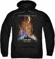 Star Trek pull-over hoodie First Contact adult black