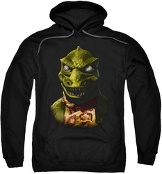 Star Trek pull-over hoodie Gorn Bust adult black