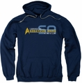 Star Trek pull-over hoodie I Survived adult navy