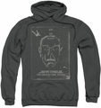 Star Trek pull-over hoodie Join The Search adult charcoal
