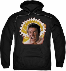 Star Trek pull-over hoodie Khaaaaaan adult black