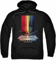 Star Trek pull-over hoodie Motion Picture Poster adult black
