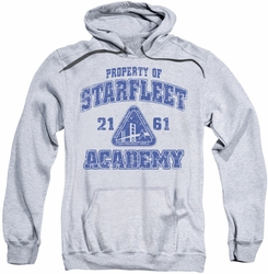 Star Trek pull-over hoodie Old School adult athletic heather