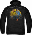 Star Trek pull-over hoodie Phasers Ready adult black