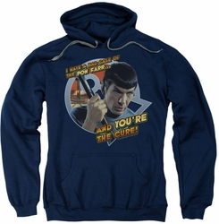 Star Trek pull-over hoodie Pon Far adult navy