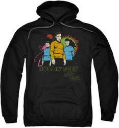 Star Trek pull-over hoodie Rollin Deep adult black