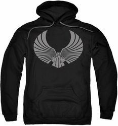 Star Trek pull-over hoodie Romulan Logo adult black