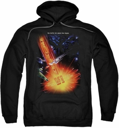 Star Trek pull-over hoodie Undiscovered Country adult black
