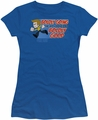 Star Trek Quogs juniors t-shirt Boldly Good royal