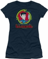 Star Trek Quogs juniors t-shirt Illogical navy