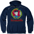 Star Trek Quogs pull-over hoodie Illogical adult navy
