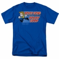 Star Trek Quogs t-shirt Boldly Good mens royal