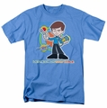 Star Trek Quogs t-shirt Check Your Vitals mens carolina blue