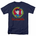 Star Trek Quogs t-shirt Illogical mens navy