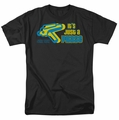 Star Trek Quogs t-shirt Just A Phase mens black