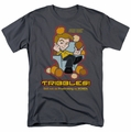 Star Trek Quogs t-shirt Not As Frustrating mens charcoal