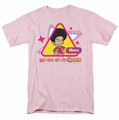 Star Trek Quogs t-shirt Out Of My Space mens pink