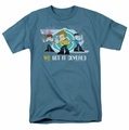 Star Trek Quogs t-shirt We Got It Covered mens slate