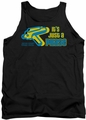 Star Trek Quogs tank top Just A Phase mens black