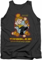 Star Trek Quogs tank top Not As Frustrating mens charcoal