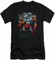 Star Trek slim-fit t-shirt 25Th Anniversary Crew mens black