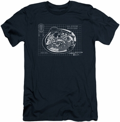 Star Trek slim-fit t-shirt Bridge Prints mens navy