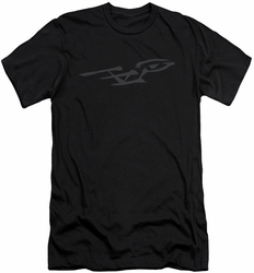 Star Trek slim-fit t-shirt Bushwork Enterprise mens black
