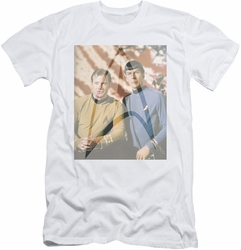 Star Trek slim-fit t-shirt Classic Duo mens white