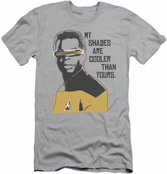 Star Trek slim-fit t-shirt Cooler Shades mens silver