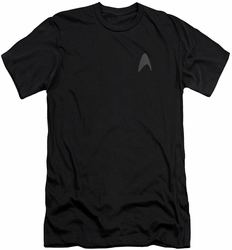 Star Trek slim-fit t-shirt Darkness Command Logo mens black
