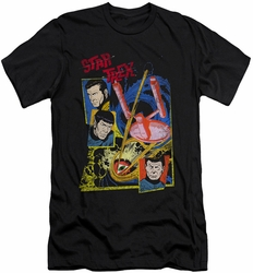 Star Trek slim-fit t-shirt Eye Of The Storm mens black