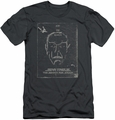 Star Trek slim-fit t-shirt Join The Search mens charcoal