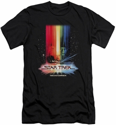 Star Trek slim-fit t-shirt Motion Picture Poster mens black