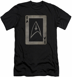 Star Trek slim-fit t-shirt Tos Ace mens black