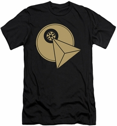 Star Trek slim-fit t-shirt Vulcan Logo mens black