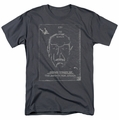 Star Trek t-shirt Join the Search mens charcoal