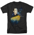 Star Trek t-shirt TNG 25 Data mens black