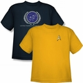 Star Trek t-shirts in youth sizes