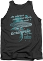 Star Trek tank top Never Forget mens charcoal