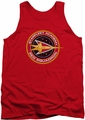 Star Trek tank top Red Squadron mens red