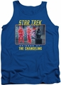 Star Trek TOS tank top The Changeling mens royal