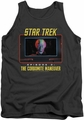 Star Trek TOS tank top The Corbomite Maneuver mens charcoal