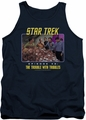 Star Trek TOS tank top The Trouble With Tribbles mens navy