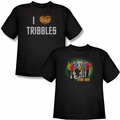 Star Trek Youth black t-shirts