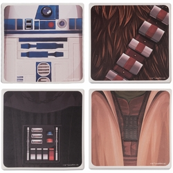 Star Wars 4-piece Ceramic Coaster Set pre-order