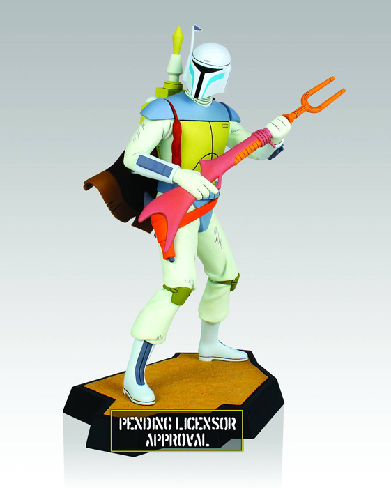 Star Wars Boba Fett Holiday Special Animated Maquette Urban Collector