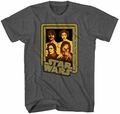 Star Wars Cast Family Photo 1 t-shirt men charcoal pre-order