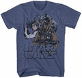 Star Wars Han Solo Chewbacca t-shirt men navy heather pre-order