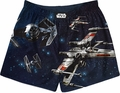Star Wars Light Vs Dark Space Battle mens boxers pre-order
